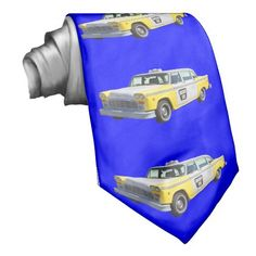 Shop Yellow and White Checkered Taxi Cab Neck Tie created by KWJPHOTOART. Yellow Ties, Neck Ties, Phone Covers, Taxi, Coffee Cups, Antique Cars, Art Prints, Gifts, Tie Dye Outfits