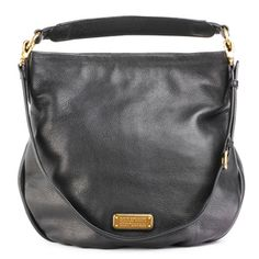 MARC BY MARC JACOBS New Q Hillier Hobo Black
