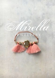 Mrs. Milligan Delicate Pink | Mirella Jewellery Bracelet | hand-crafted in Vienna | #bracelet #mirellajewellery #tasselbracelet #friendshipbracelet #gift #giftideas #present #tasseljewellery #jewellery #swarovski #swarovskicrystals Jewellery Bracelets, Jewelry, Tassel Bracelet, Vienna, Friendship Bracelets, Swarovski Crystals, Delicate, Earrings, Gifts
