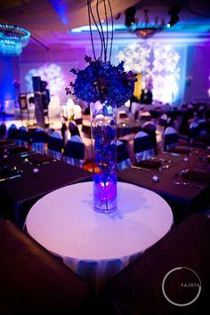 tall centerpieces on a budget - it can be done!