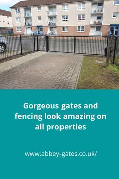 Our gates and fencing look amazing on all properties. Metal Driveway Gates, Garden Gates And Fencing, Timber Gates, Metal Gates, Wooden Gates, Iron Gates, Fence, Gates And Railings, Metal Railings