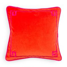 C Wonder - 38 - Decorative Pillows - Embroidered Bamboo Pillow Cover