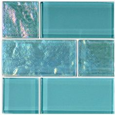Add sophistication and style to your swimming pool with our full line of Turquoise Mixed (Twilight Series) glass tile blends. The uncommon brilliance of glass tile is perfect for your waterline or as a border for steps. Glass Pool Tile, Mosaic Glass, Pool Tiles, Pool Mosaics, Kitchen Decor, Kitchen Design, Kitchen Ideas, Kitchen Layouts, Diy Kitchen