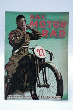 Zeitschrift ¨DAS MOTORRAD¨ Jahrgang 1931 / 20x / Oldtimer / Motorcycle / D in…