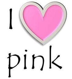 I luv pink