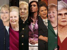 1. Cristina Kirchner  Electa presidenta de Argentina en el 2007.