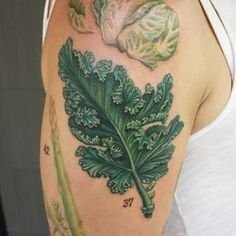 Should we get a kale tattoo? | 17 Cool And Clever Ways To Show Your Unwavering Devotion To Kale