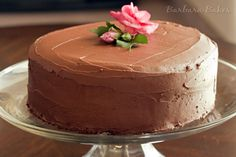 Hershey's perfectly chocolate cake and frosting... which is actually perfect.