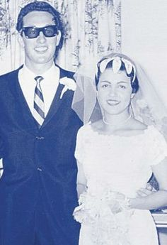 Buddy and Maria Holly ~ So Sad, 'True Love Ways' Wedding Of The Year, Wedding Pics, Wedding Bells, Old Celebrities, Celebs, Celebrity Couples, Celebrity Weddings, Holly Pictures, Roy Orbison