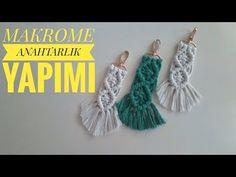 Crochet Motifs, Macrame Tutorial, Macrame Knots, Maker, String Art, Key Rings, Tassel Necklace, Drop Earrings, Embroidery