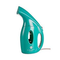 Amazon.com: Joy Mangano My Little Steamer® Go Mini® Hand Steamer 900 Watt Portable Lightweight Travel Clothing Fabric Steamer Quick Heating Automatic Shut off Compact and Stylish (teal): Home & Kitchen