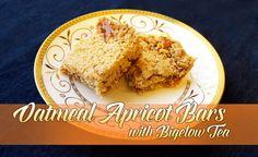 Bigelow Tea, Oatmeal Apricot Bars and Downton Abbey