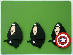 capitão américa  www.pequenosrecortes.blogspot.com