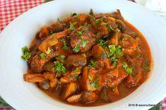 Ratatouille, Pot Roast, Carne, Ethnic Recipes, Food, Red Peppers, Carne Asada, Roast Beef, Essen