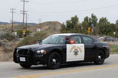 CALIFORNIA HIGHWAY PATROL (CHP) You can run but you can't hide.