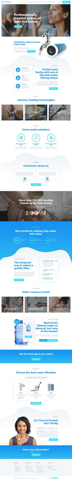 A Great Solution for Water Supply Shop or a Drinking Water Delivery Company Has Arrived 💧! Meet a New for Filtering Systems & Drinking Water Delivery Business! ⚫️ ⚫️ ⏰ OFF for 3 Days Only! Bottled Water Delivery, Water Company, Professional Web Design, Energy Companies, Typography Layout, Website Design Inspiration, Water Supply, Solar System, Ideas