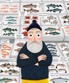 Kirsti Davidson Illustration | The Fisherman