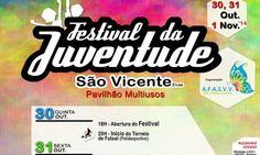 Três dias de Festival da Juventude de São Vicente