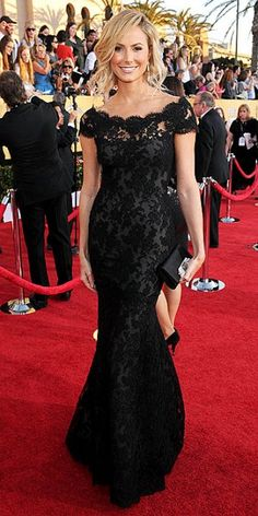 marchesa black lace dress that I have wanted for some time now. wanted it for Em's wedding. maybe someday.