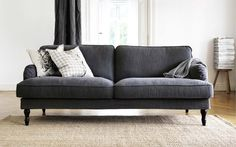 STOCKSUND sofa $599 with removable, washable cotton/polyester cover. 20 New Things for Your Home This Fall 2014 from IKEA
