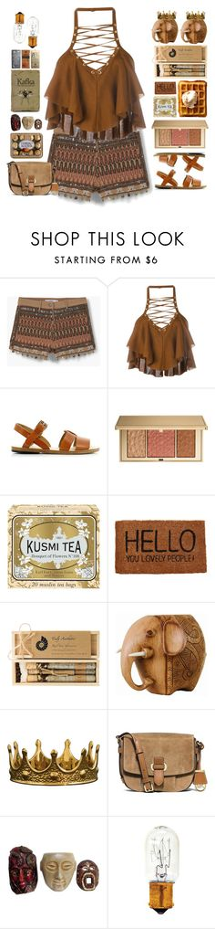 """Wildest dreams"" by doga1 ❤ liked on Polyvore featuring MANGO, Balmain, A.P.C., Estée Lauder, Kusmi Tea, Happy Jackson, Truly Aesthetic, Seletti, MICHAEL Michael Kors and GE"