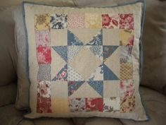 Looking for your next project? You're going to love Scrappy Patchwork Pillow by designer SherriQuilts. - via @Craftsy
