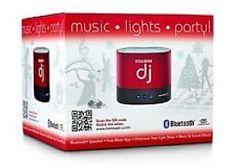 Holiday Dj Speaker - http://www.specialdaysgift.com/holiday-dj-speaker-2/