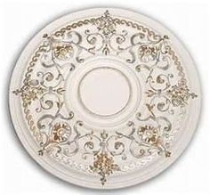 Painted Ceiling Medallion Victorian Medallions Crown Molding Ceilings Wall Murals Flooring