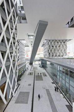 Diagrid Hong Kong Design Institute von CAAU / Sergio Pirrone