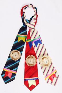 gravata festa junina infantil - Pesquisa Google