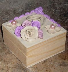 bauletto fimo rose, by creando, 7,00 € su misshobby.com