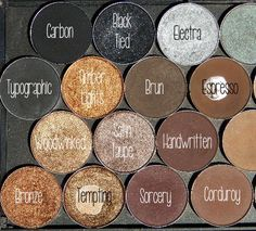 Actually I'd use these more bc I'm more if a neutral kinda girl. Ughhh, I love eyeshadow.