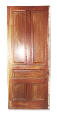 Tall wooden pocket door in great condition. No hardware included. Priced each. Arched Doors, Panel Doors, Entry Doors, Antique Interior, Antique Doors, Pocket Doors, Closet Doors, Cabinet Doors, French Doors
