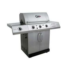 Gourmet 3-Burner TRU-Infrared LP Grill with Side Burner-463250512 at The Home Depot