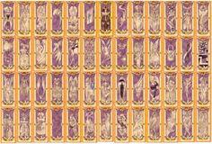 Clow Cards from Cardcaptor Sakura
