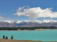 snow capped mountain nz