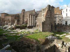 Monumentos de Roma. Foro Romano