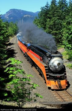 Southern Pacific 4449 at Bonneville, Washington by Hunter Lohse