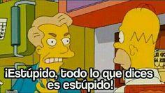 Memes plantillas tengo miedo 24 ideas for 2019 Simpsons Frases, Simpsons Meme, The Simpsons, New Memes, Dankest Memes, Funny Memes, Jokes, Funny Spanish Memes, Spanish Humor