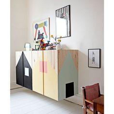 Come personalizzare i mobili IKEA | Idee per i progetti Fai-Da-Te dei mobili di IKEA | Mobili per bambini | Idee, consigli e ispirazioni