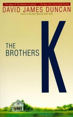 {Want to Read} A Book That Intimidates Me--The Brothers K by David James Duncan #MMDChallenge #MMDReading
