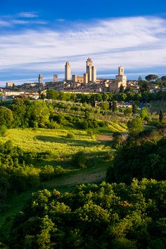 Towers of San Gimignano, Tuscany, Italy