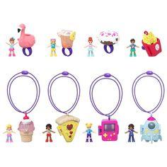 Polly Pocket Tiny Takeaway (Styles May Vary) Dollhouse Kits, Dollhouse Miniatures, Lol Dolls, Barbie Dolls, Donut Ring, Toys For Girls, Girl Toys, Christmas Baby, Emo