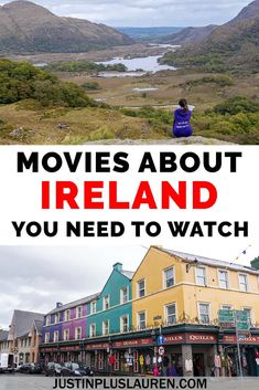 Here are the best Irish movies that you've gotta see! These movies about Ireland will make you want to travel there instantly. Here are the best Ireland movies you need to watch. Movies about Ireland Ireland Travel Guide, Europe Travel Guide, Travel Guides, Travelling Europe, Travel Abroad, Europe Destinations, Amazing Destinations, Travel Movies, Travel Books