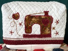 SEWING MACHINE COVER by AllisonsCountryHome on Etsy, $14.99