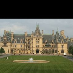 Biltmore Estate, North Carolina only in dreams but I have been there!