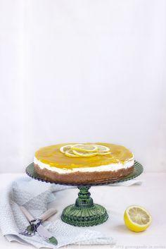 Vegan Lemon Cheesecake ricetta con yogurth di soia