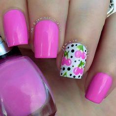 Gorgeous Cherry Nails!