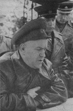 World War II, in Russia – the Great Patriotic War (22 June 1941 – 9 May 1945). Marshal Georgy Konstantinovich Zhukov at the First Belorussian Front. October, 1944.