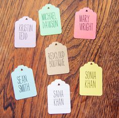 25 Wedding Escort Cards to Get Excited About | OneWed